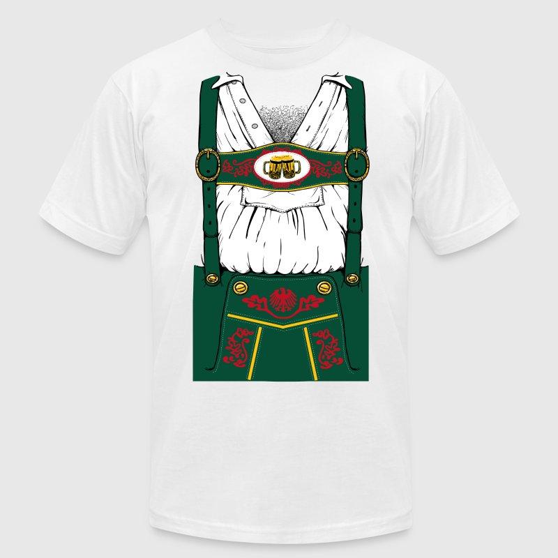 oktoberfest lederhosen t shirt spreadshirt. Black Bedroom Furniture Sets. Home Design Ideas