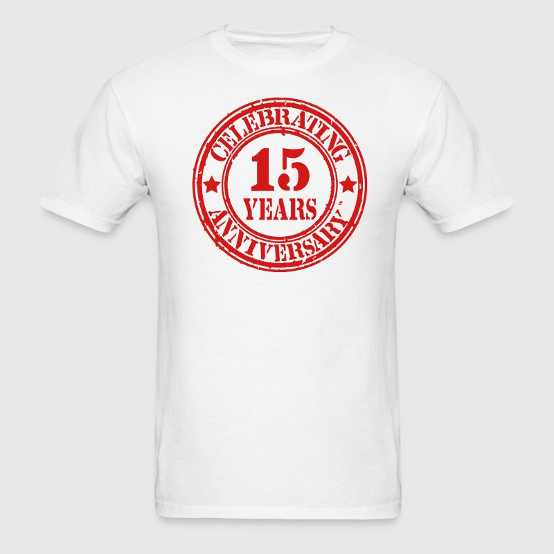 CELEBRATING 15 YEARS ANNIVERSARY - Men's T-Shirt