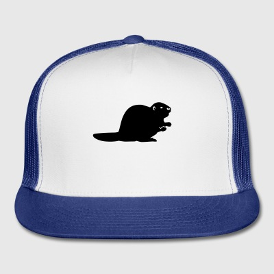Beaver Bottles & Mugs - Trucker Cap