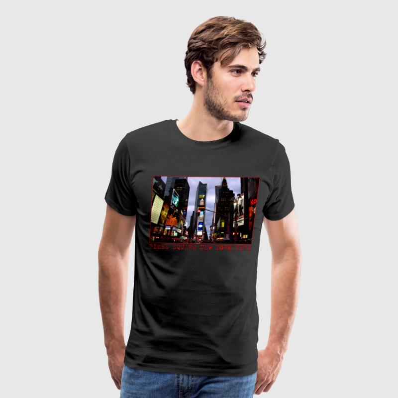 Men's New York Souvenir T-shirts NYC Times Square  - Men's Premium T-Shirt