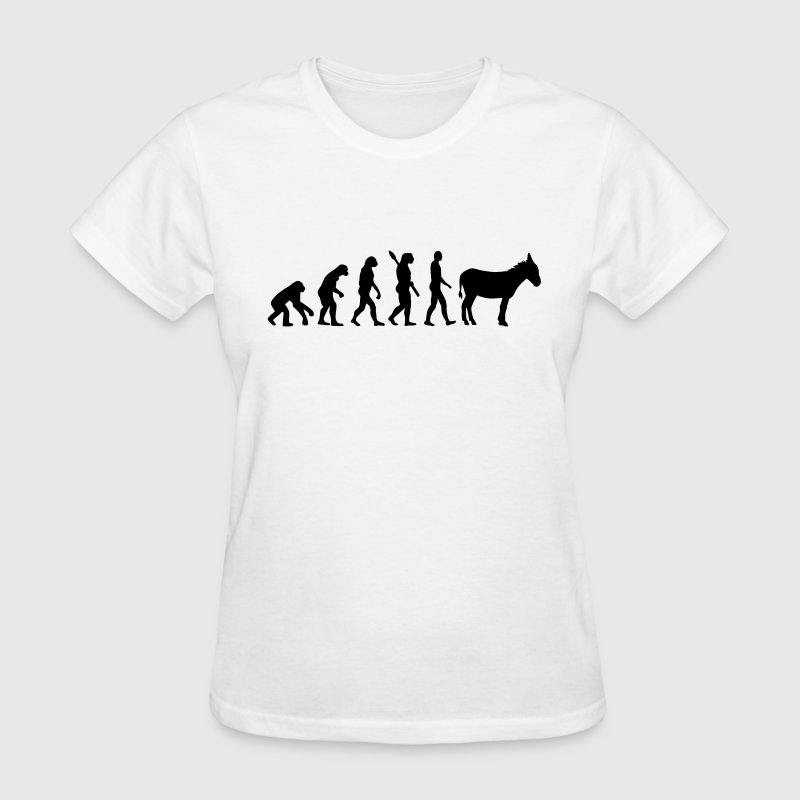 Evolution Donkey Women's T-Shirts - Women's T-Shirt