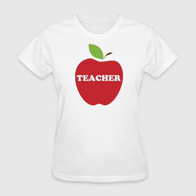 Red Apple Teacher Women's T-Shirts - Women's T-Shirt