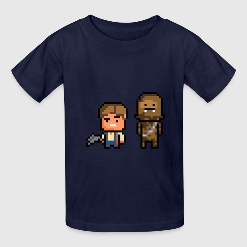 Han and Chewie - Kids' T-Shirt