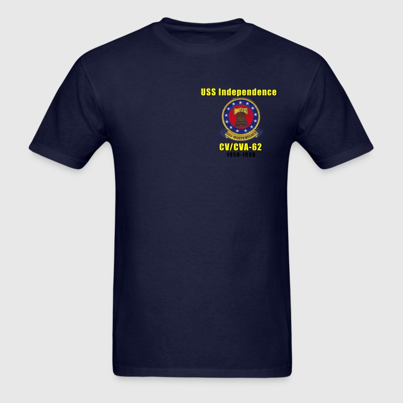 USS Independence CV-62 Tribute Shirt - Men's T-Shirt