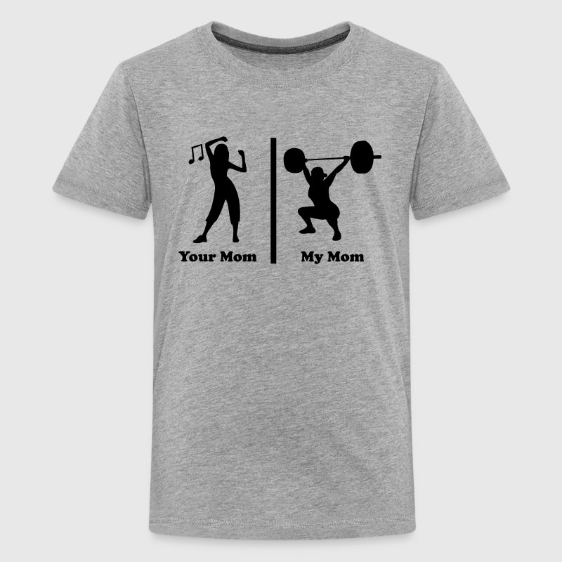Your mom my mom funny fitness T-Shirt | Spreadshirt
