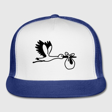 Stork Bottles & Mugs - Trucker Cap