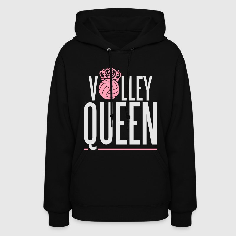 Volleyball Queen Hoodies - Women's Hoodie