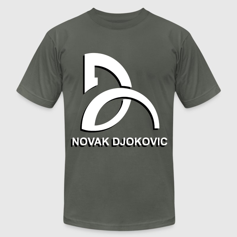 NOVAK DJOKOVIC T-Shirts - Men's T-Shirt by American Apparel