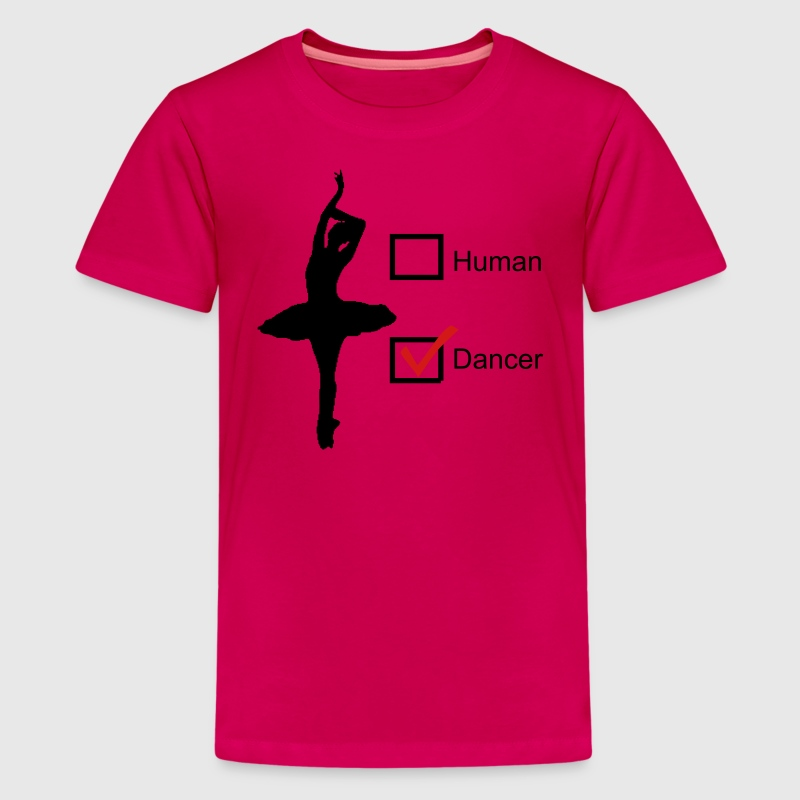 Human or Dancer?  - Kids' Premium T-Shirt