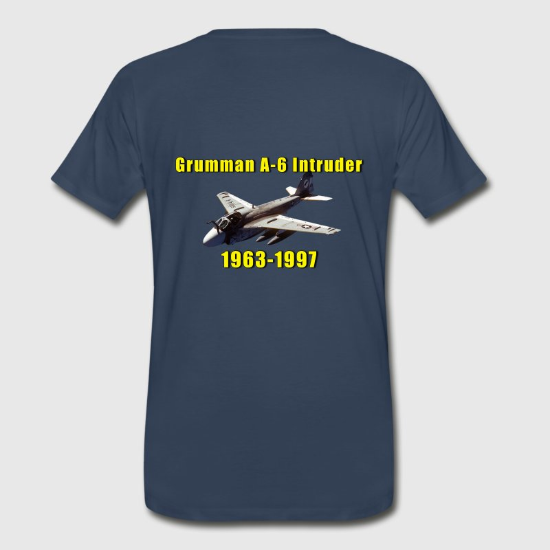 Grumman A-6 Intruder Tribute Shirt Featuring VA-35 - Men's Premium T-Shirt