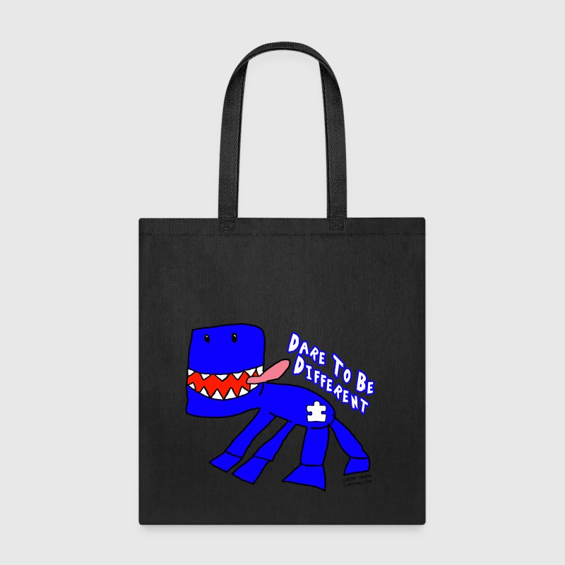 Blue Monster For Autism Bags & backpacks - Tote Bag