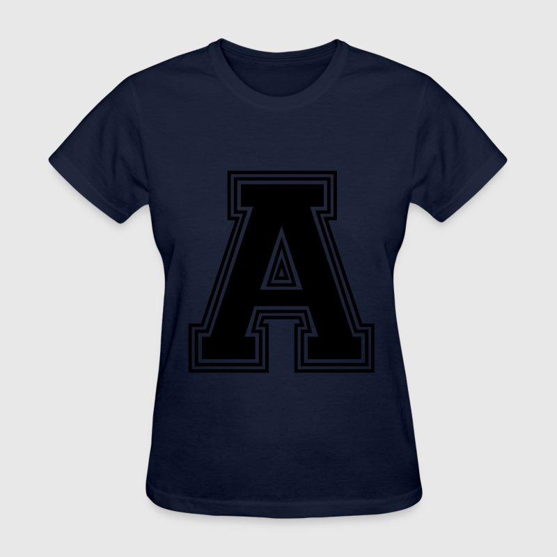 the letter a_w31 Women's T-Shirts - Women's T-Shirt