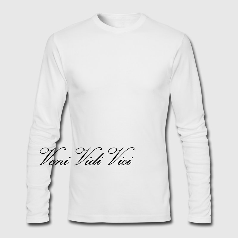Long Sleeve T-Shirt Veni Vidi Vici - Men's Long Sleeve T-Shirt by Next Level