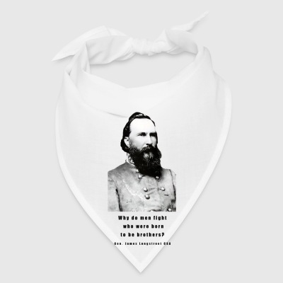 Gen. James Longstreet CSA Civil War Cup - Bandana