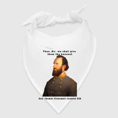 Gen Stonewall Jackson Civil War Series Coffee Cup - Bandana