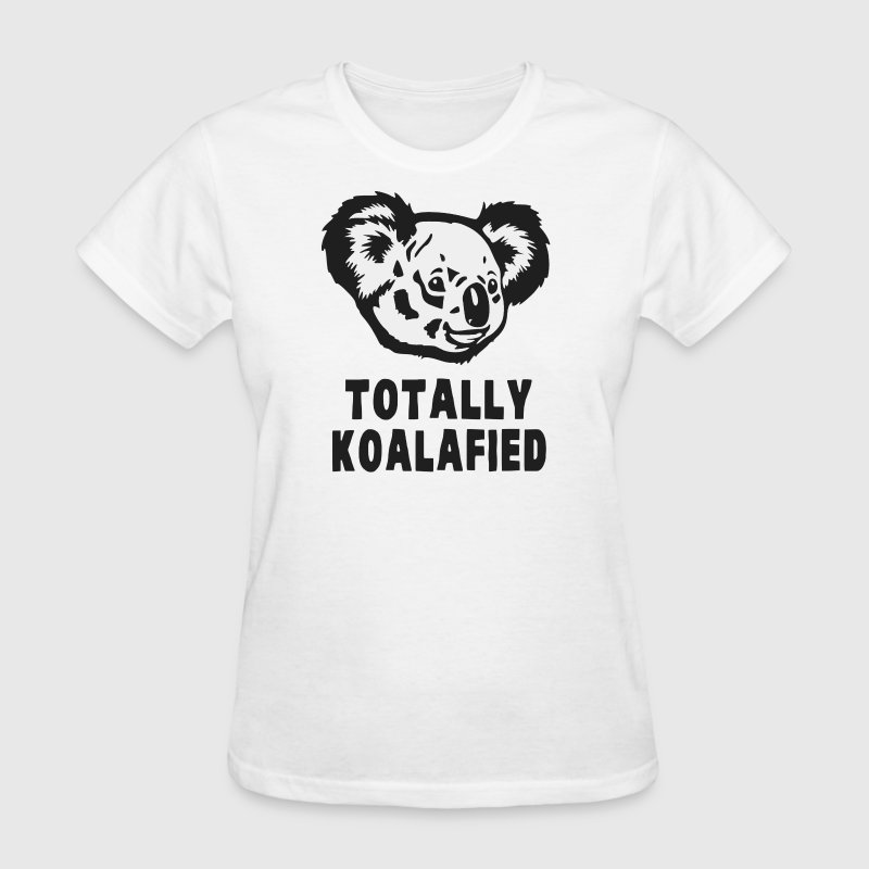 Totally Koalafied Koala Women's T-Shirts - Women's T-Shirt