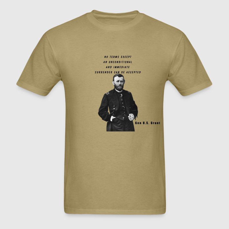General U.S. Grant Civil Wars Series Shirt - Men's T-Shirt