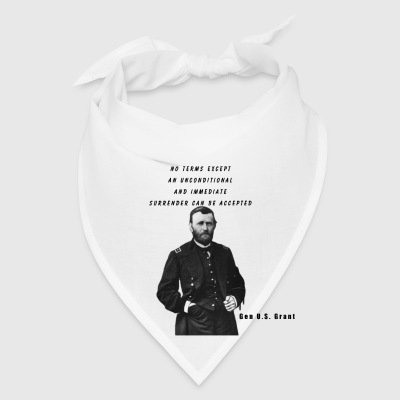 U.S. Grant Quote Coffee Cuo - Bandana