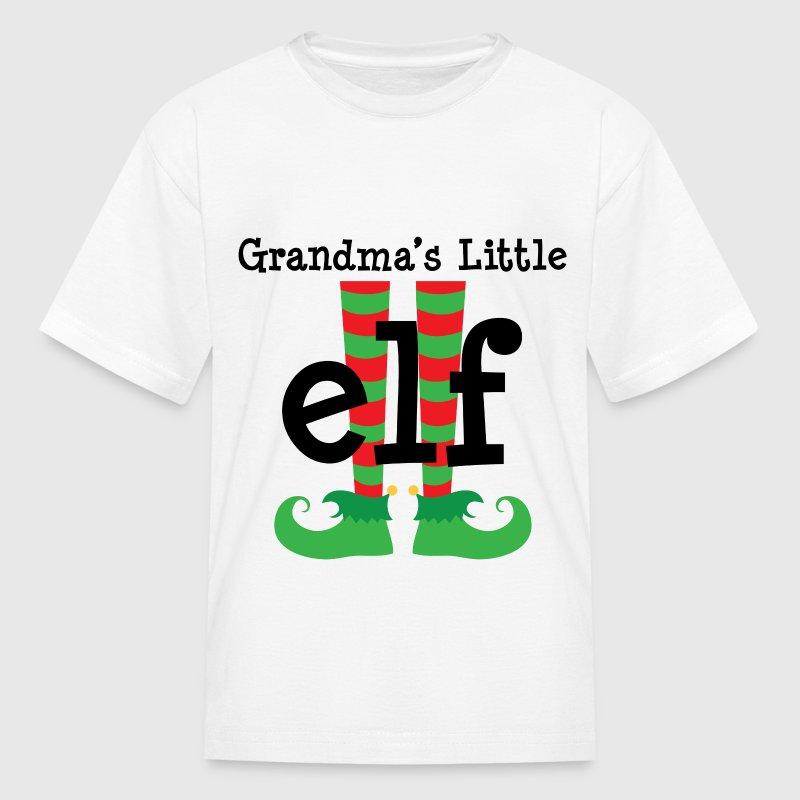 Grandchild Christmas Elf T-Shirt | Spreadshirt