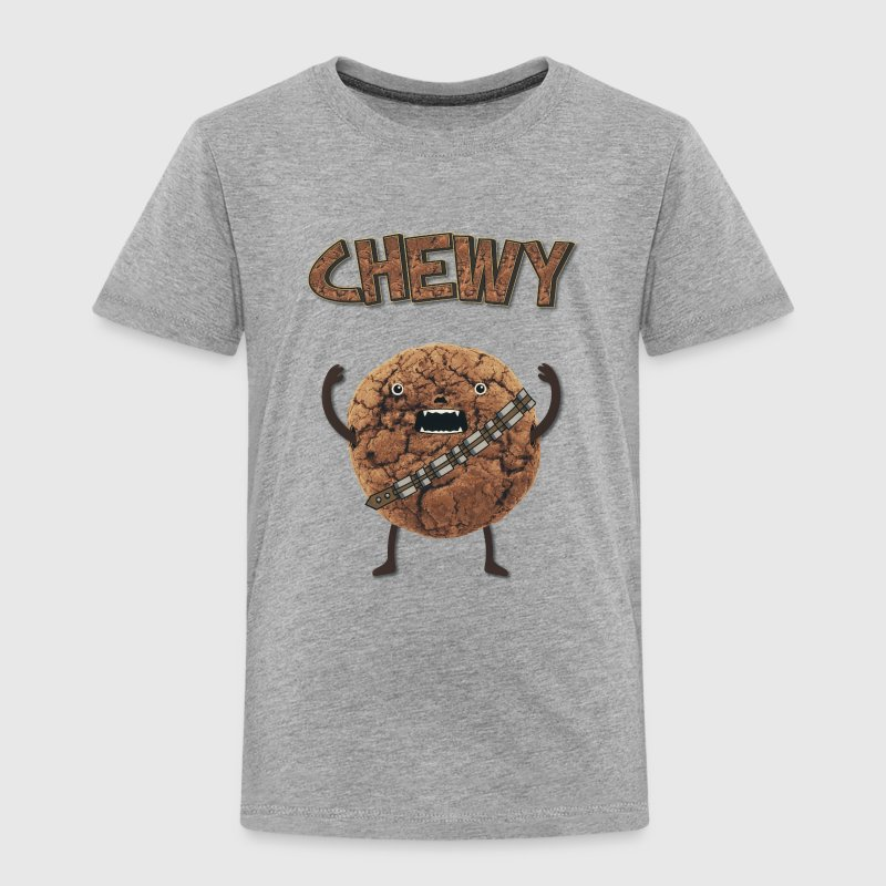 Funny Nerd Humor - Chewy Chocolate Cookie Wookiee Baby & Toddler Shirts - Toddler Premium T-Shirt