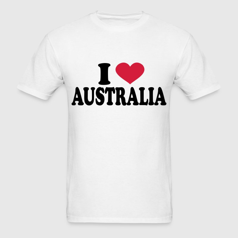 I Love Australia T-Shirts - Men's T-Shirt