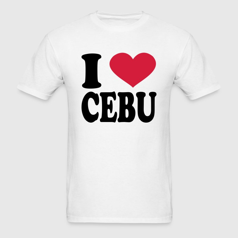 I Love Cebu T-Shirts - Men's T-Shirt