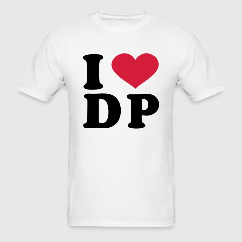 I Love DP T-Shirts - Men's T-Shirt