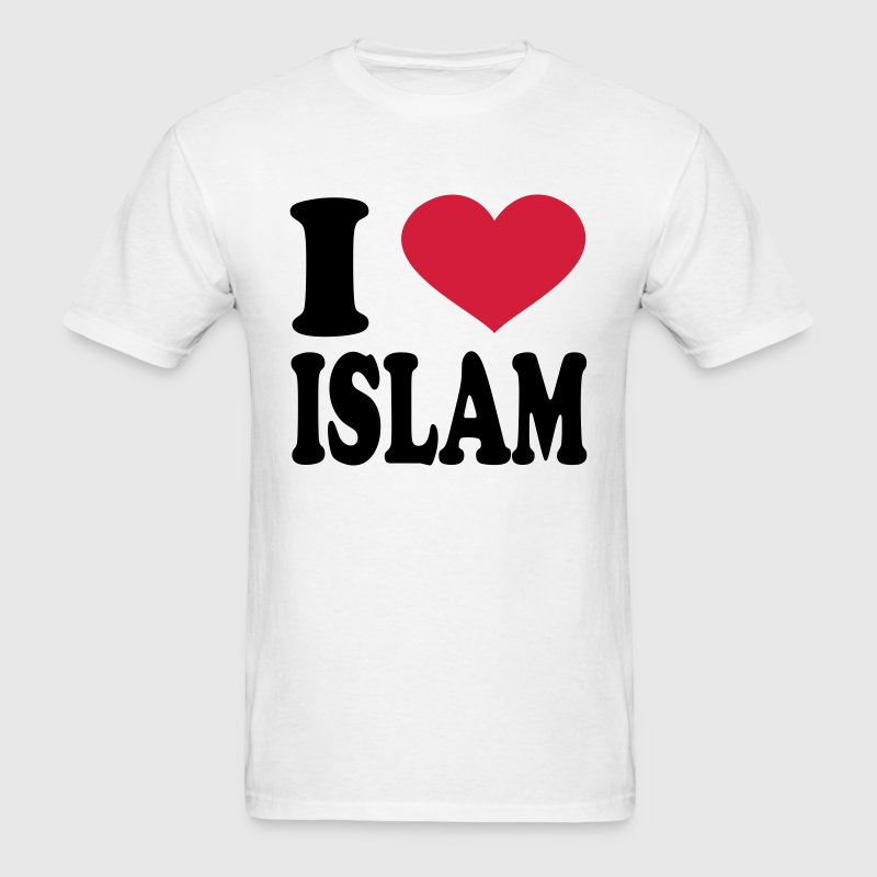 I Love Islam T-Shirts - Men's T-Shirt