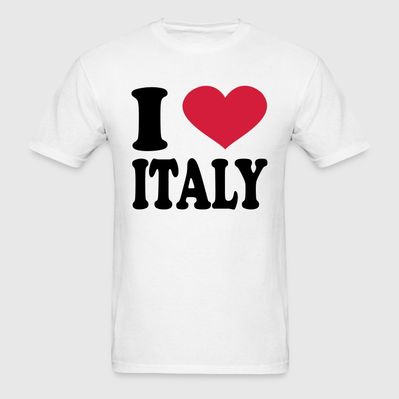 I Love Italy T-Shirts - Men's T-Shirt