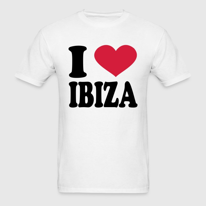 I Love Ibiza T-Shirts - Men's T-Shirt