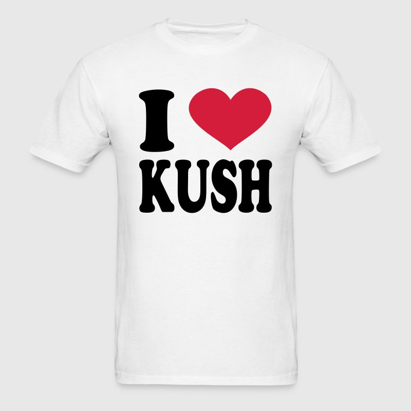 I Love Kush T-Shirts - Men's T-Shirt