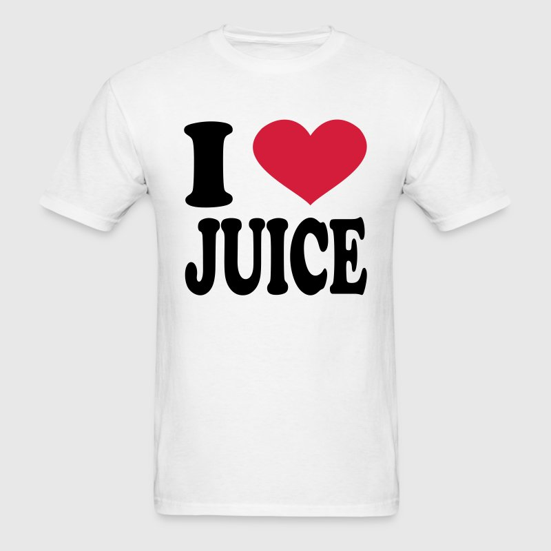 I Love Juice T-Shirts - Men's T-Shirt
