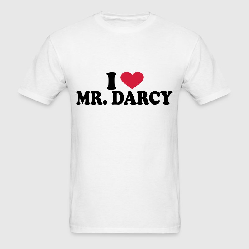 I Love Mr Darcy T-Shirts - Men's T-Shirt