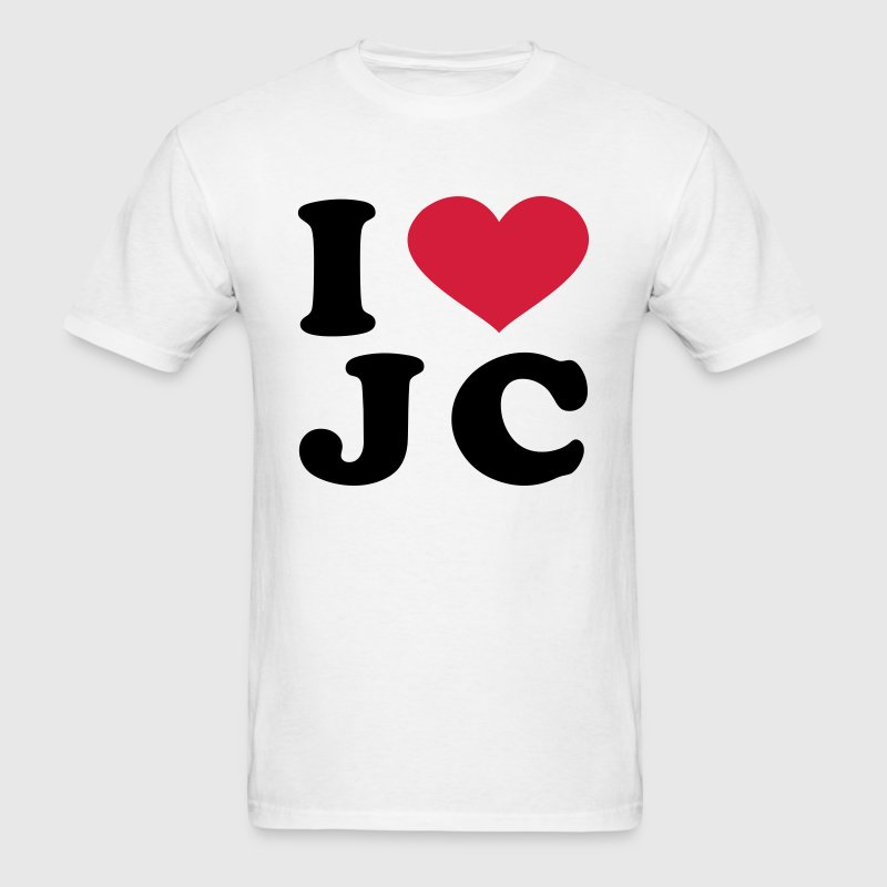 I Love JC T-Shirts - Men's T-Shirt