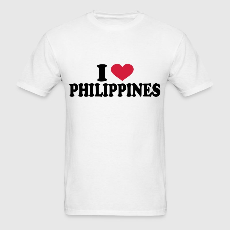 I Love philippines T-Shirts - Men's T-Shirt