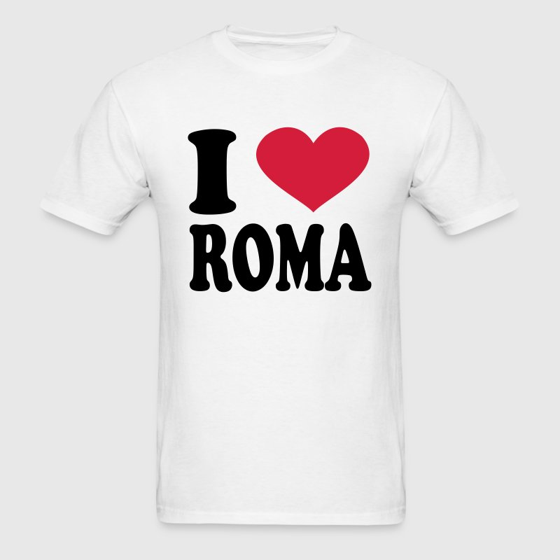 I Love roma T-Shirts - Men's T-Shirt