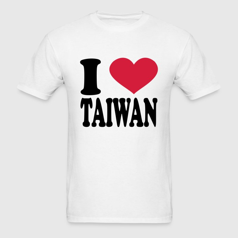 I Love Taiwan T-Shirts - Men's T-Shirt