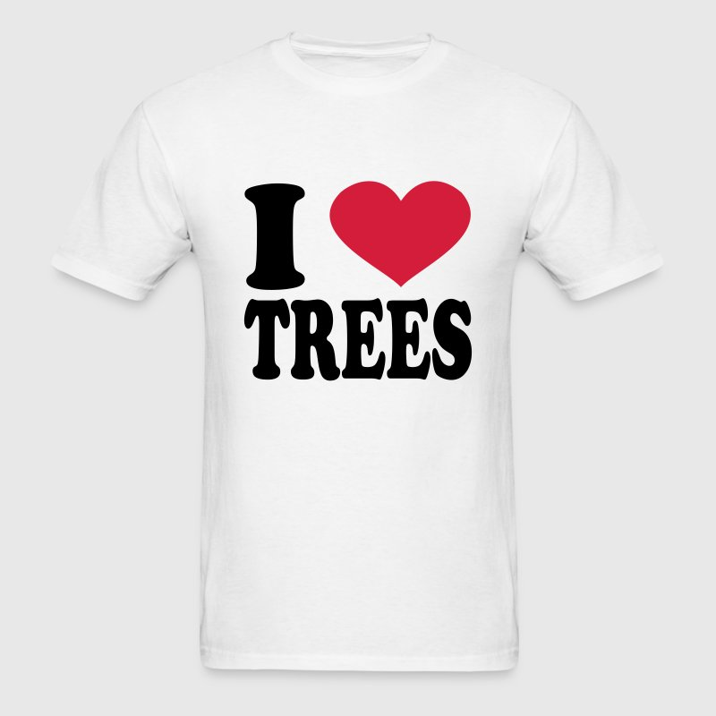 I Love Trees T-Shirts - Men's T-Shirt