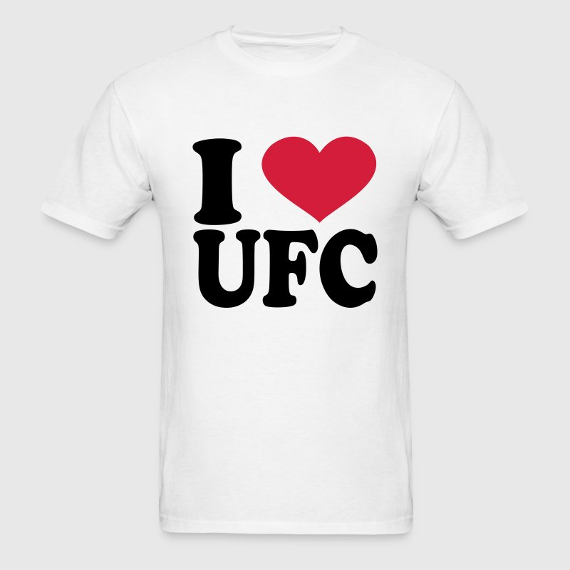 I Love Ufc T-Shirts - Men's T-Shirt