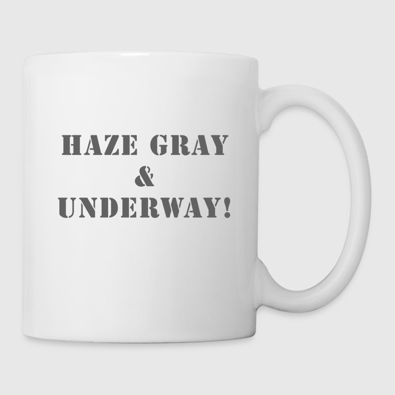 US Navy Haze Gray & Underway Coffee Cup - Coffee/Tea Mug