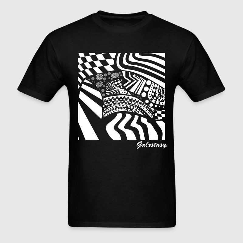 Trippy Abstract T-Shirts - Men's T-Shirt