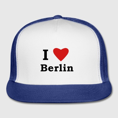 I Heart Berlin Bottles & Mugs - Trucker Cap