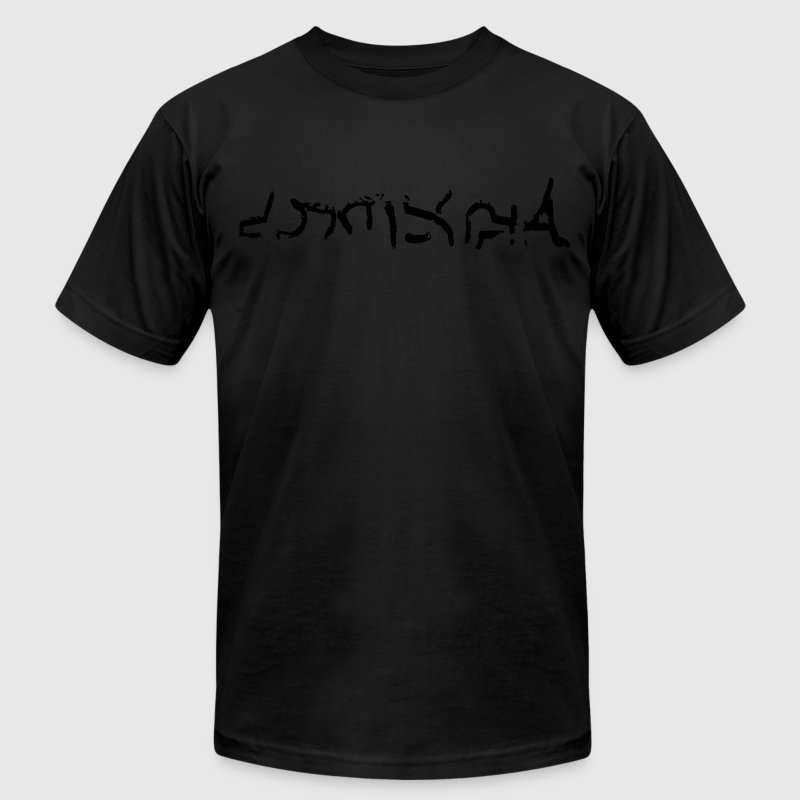 Summon Sign Vector T-Shirts - Men's T-Shirt by American Apparel