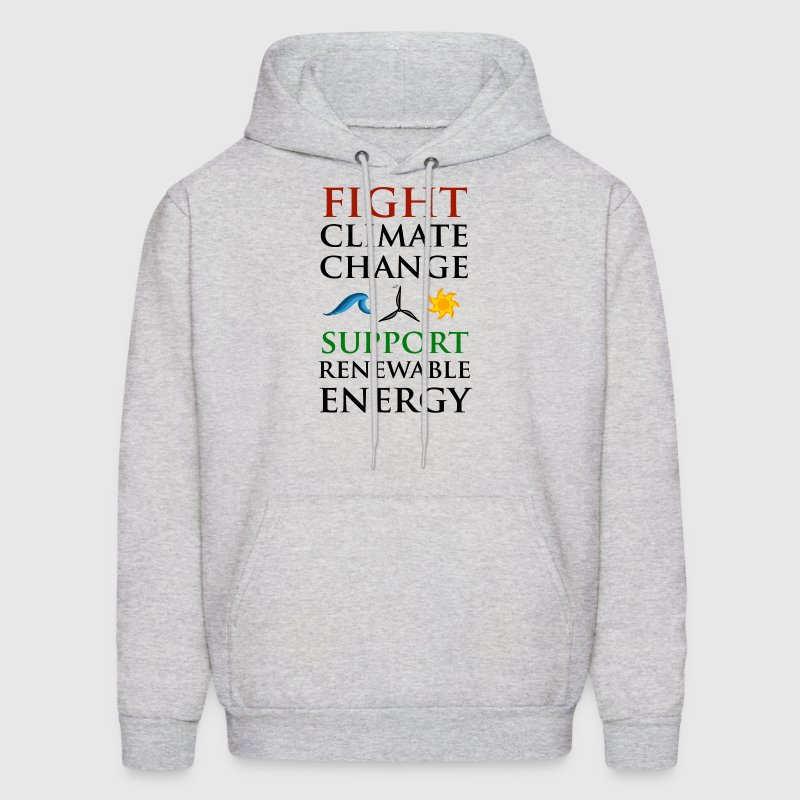 Fight Climate Change Hoodies - Men's Hoodie