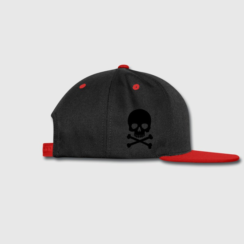 fashion baseball caps uk pirate skull trendy snap cap black trend