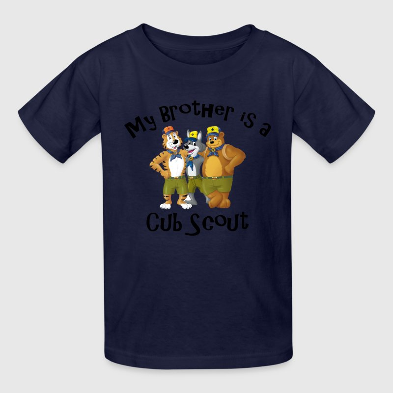 Boy's My Brother is a Cub Scout Shirt - Kids' T-Shirt