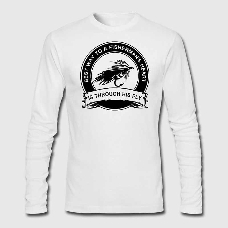 Fly Fishing Humor Long Sleeve - Men's Long Sleeve T-Shirt by Next Level