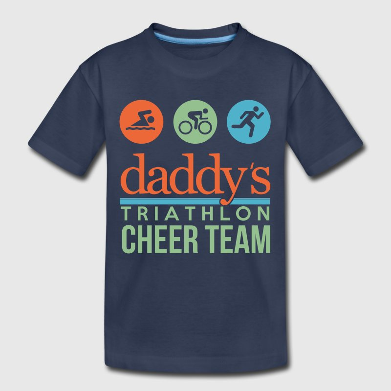 triathlon cheer team Kids' Shirts - Kids' Premium T-Shirt