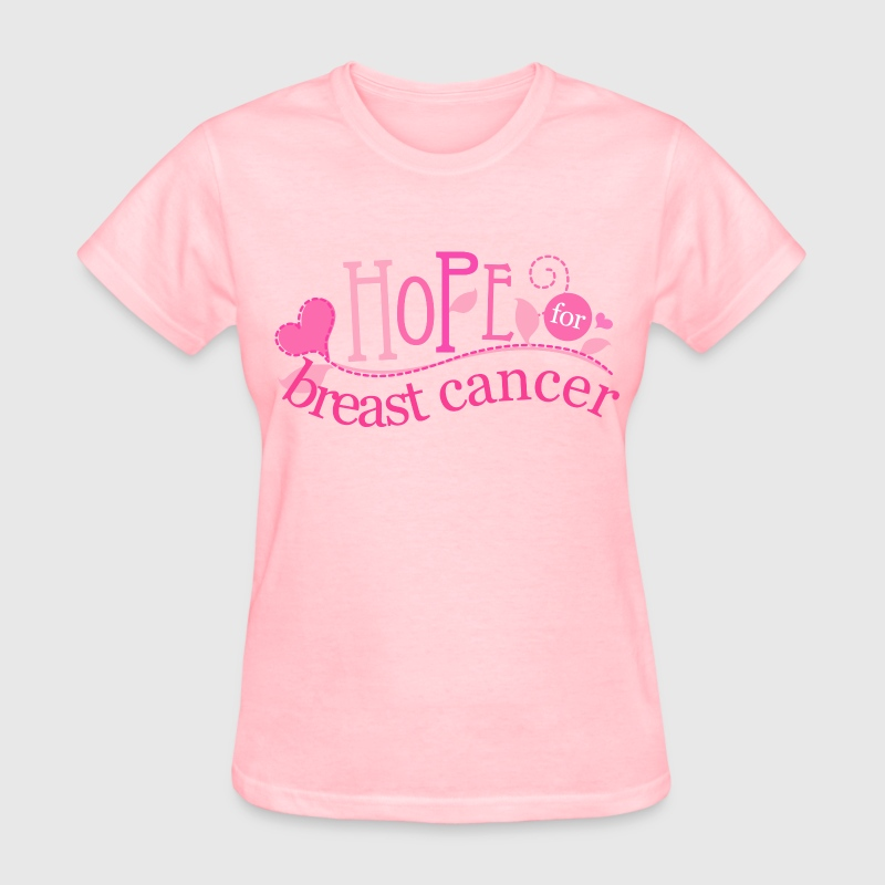 breast cancer apparel breast cancer support t shirt spreadshirt 12316