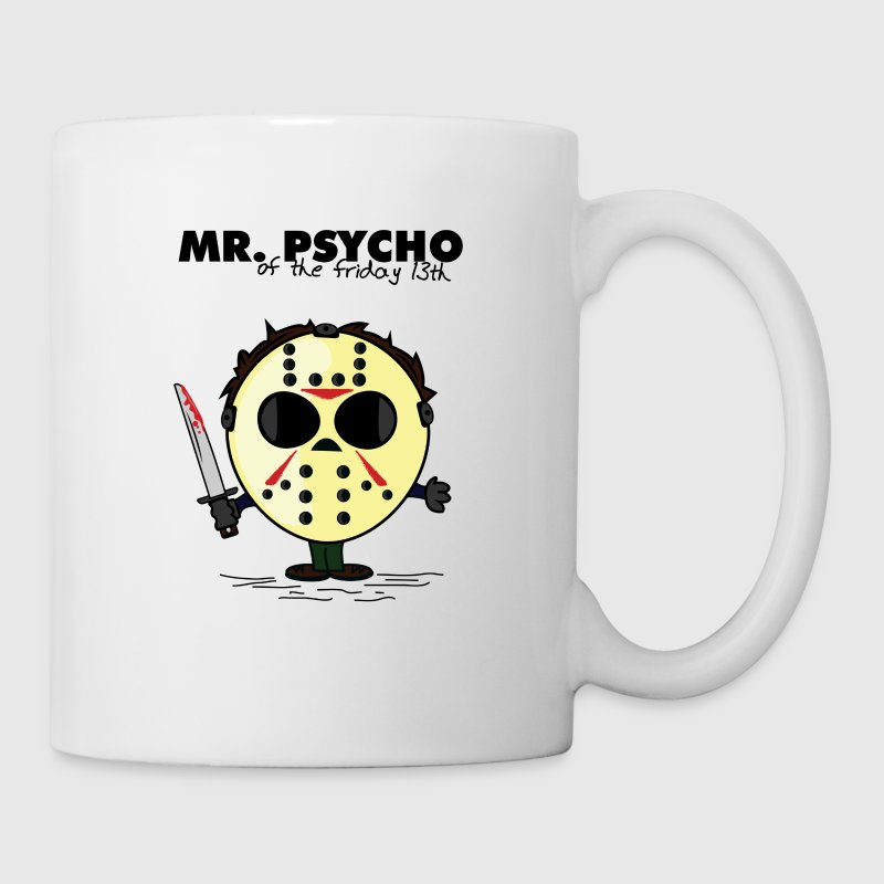 MR PSYCHO Bottles & Mugs - Coffee/Tea Mug